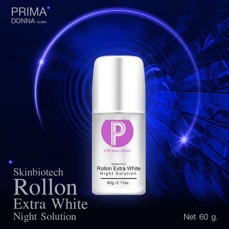 Skinbiotech Rollon Extra White Night Solution